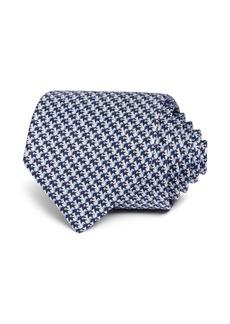 Salvatore Ferragamo Squirrel-Print Silk Classic Tie