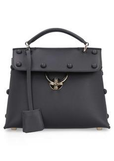 Salvatore Ferragamo Studded Leather Handbag