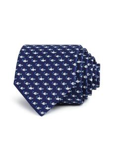 Salvatore Ferragamo Submarine Fish Classic Tie