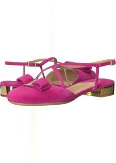 Suede Closed-Toe Sandal
