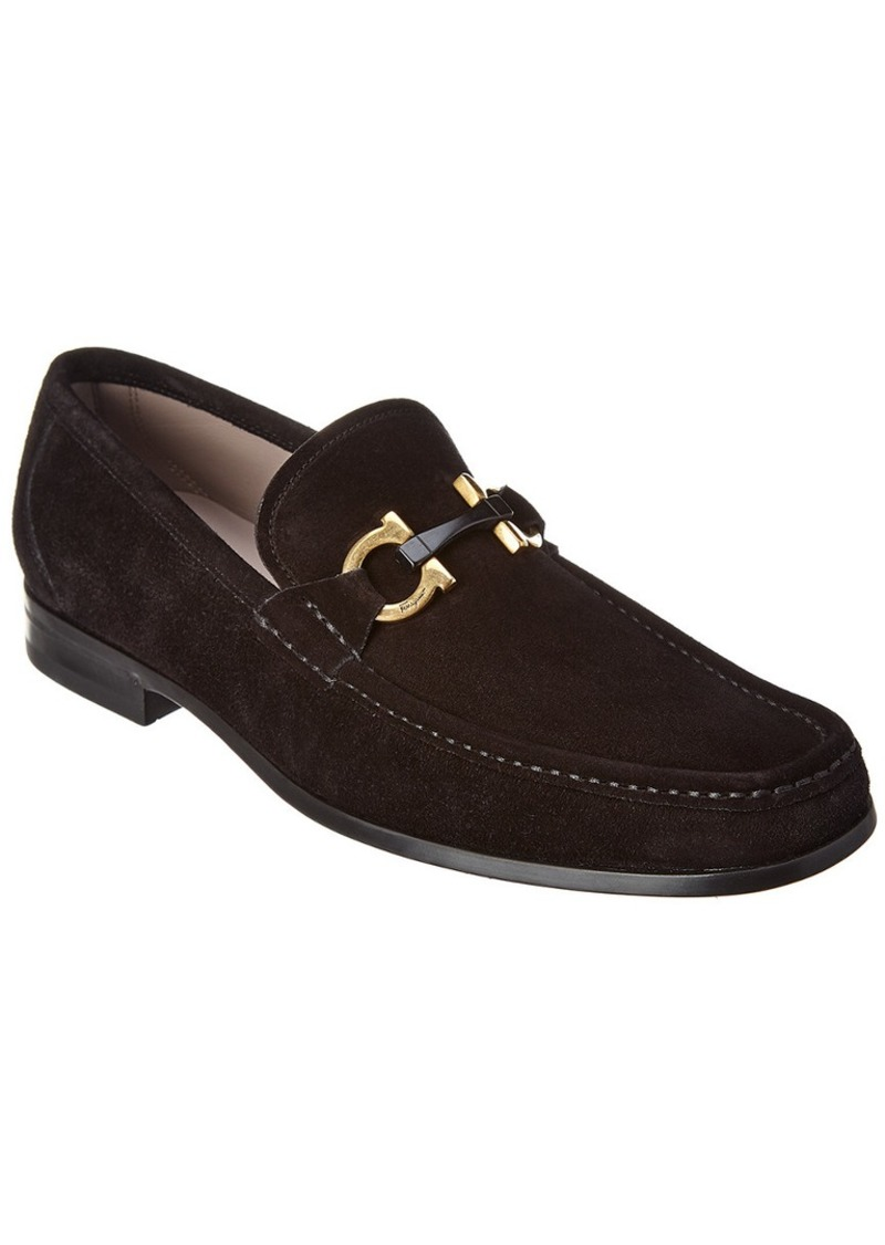 Salvatore Ferragamo Suede Loafer