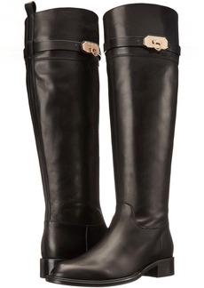 Salvatore Ferragamo Tall Leather Boot