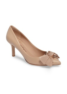 Salvatore Ferragamo Talla Bow Pointy Toe Pump (Women)