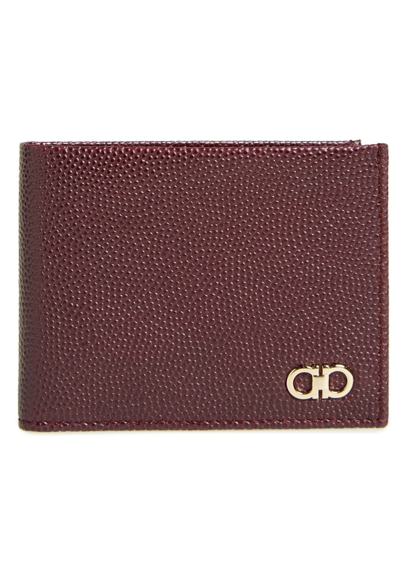 Salvatore Ferragamo 'Ten-Forty One' Leather Bifold Wallet