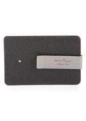 wholesale dealer 11328 3b75f Ferragamo Salvatore Ferragamo Leather Money Clip Card Case | Bags