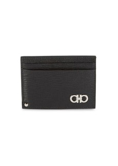 Ferragamo Textured Leather Card Case