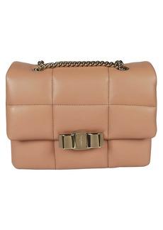 Salvatore Ferragamo Vara Bow Shoulder Bag