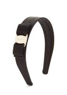 Salvatore Ferragamo Vara Bow Wide Headband