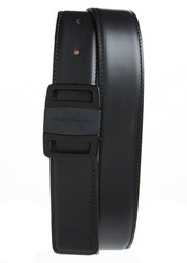 Salvatore Ferragamo Vara Buckle Leather Belt