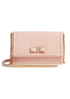 Salvatore Ferragamo Vara Leather Crossbody Bag