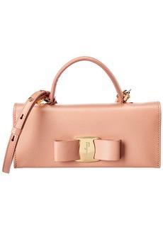 Salvatore Ferragamo Vara Leather Mini Bag