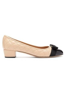 Salvatore Ferragamo Vara quilted-leather pumps