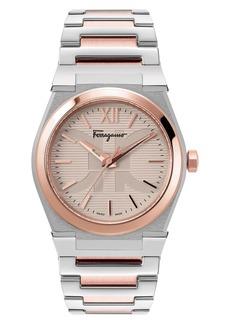 Salvatore Ferragamo Vega Bracelet Watch, 40mm