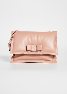 Salvatore Ferragamo Viva Puffy Shoulder Bag