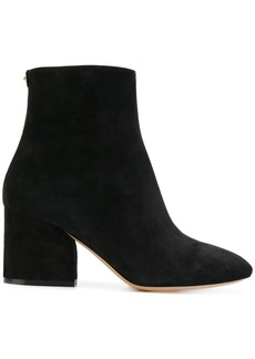Salvatore Ferragamo Wave heel booties - Black
