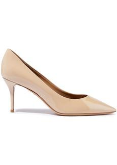 Salvatore Ferragamo Woman Patent-leather Pumps Beige