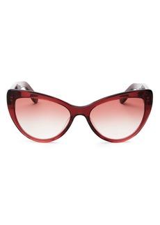 Salvatore Ferragamo Women's Cat Eye Sunglasses, 56mm