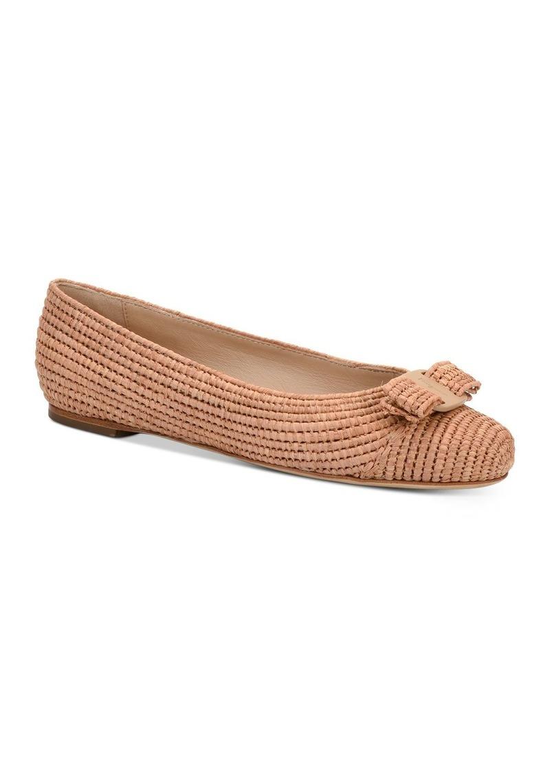 Salvatore Ferragamo Women's Embellished Slip On Ballet Flats