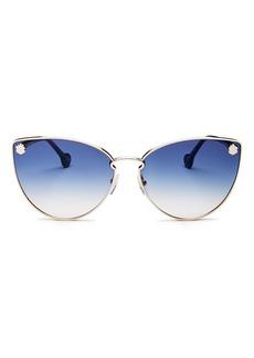 Salvatore Ferragamo Women's Fiore Cat Eye Sunglasses, 64mm