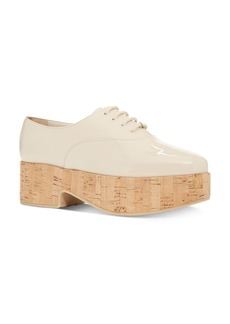 Salvatore Ferragamo Women's Viviane Patent Leather Platform Loafers