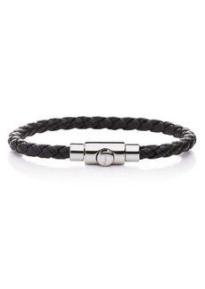 Salvatore Ferragamo Woven Leather Bracelet