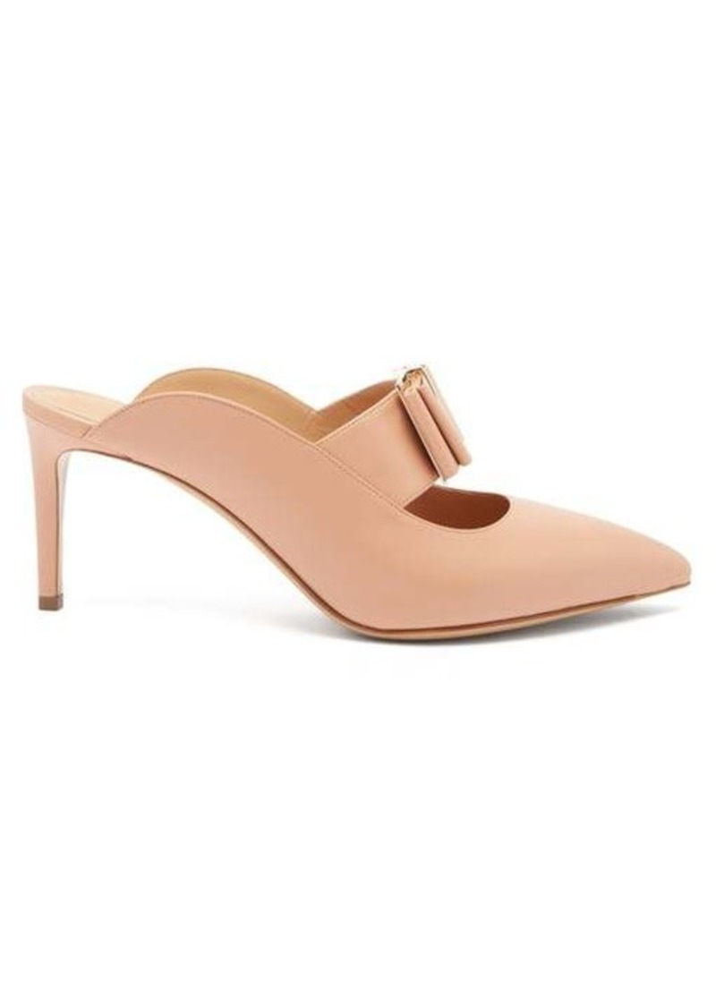 Salvatore Ferragamo Zelda point-toe leather mules