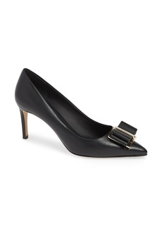 Salvatore Ferragamo Zeri Pointy Toe Pump (Women)