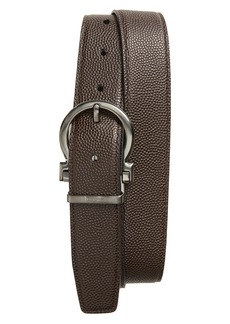 Ferragamo Salvatore Ferragaom Reversible Leather Belt