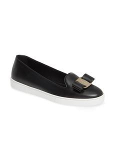 Ferragamo Salvatore Ferragomo Novello Bow Sneaker (Women)