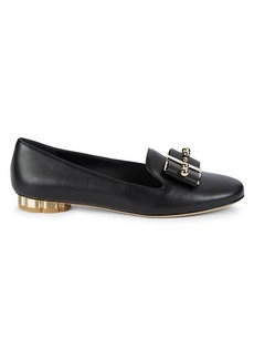 Ferragamo Sarno Leather Loafers