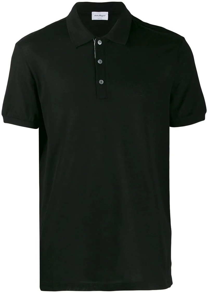 Ferragamo short-sleeved polo shirt