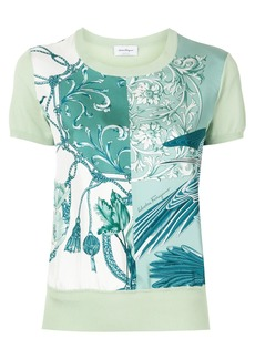 Ferragamo short sleeved printed T-shirt