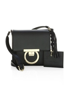 Ferragamo Shoulder Bag With Signature Lock
