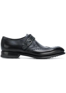 Ferragamo side buckle oxford shoes