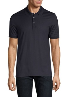 Ferragamo Silk Polo
