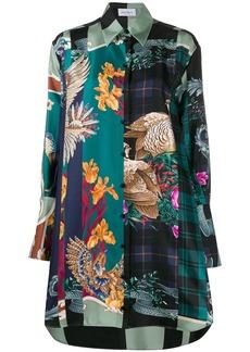 Ferragamo silk Susanne oversized shirt