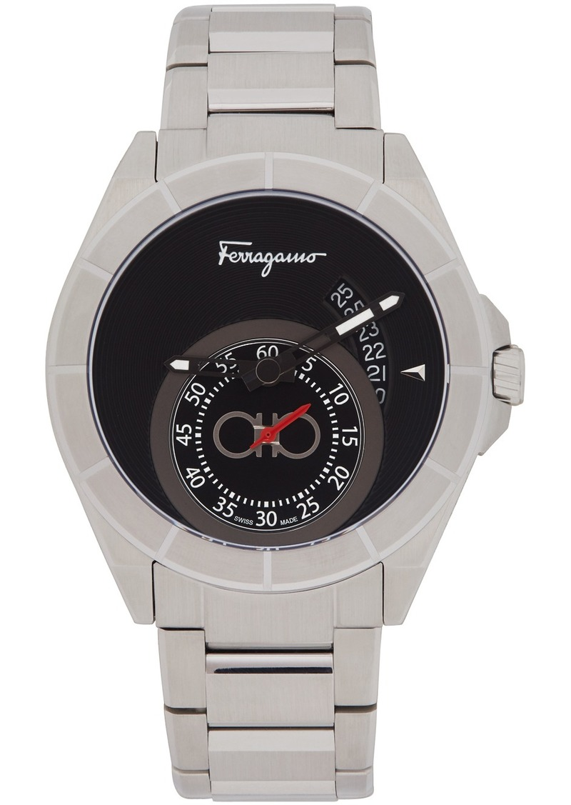 Ferragamo Silver Urban Watch