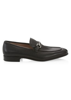 Ferragamo Simply Leather Loafers