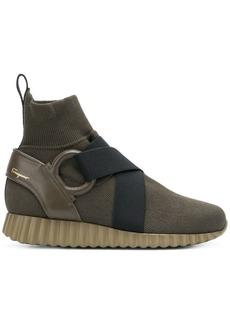 Ferragamo slip-on sock boots