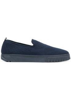 Ferragamo slip-on thick sole sneakers