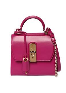 Ferragamo Small Boxyz Leather Shoulder Bag