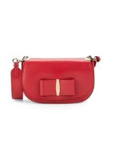 Ferragamo Small Vara Leather Crossbody Bag