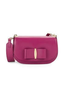 Ferragamo Small Vara Leather Crossbody Bag