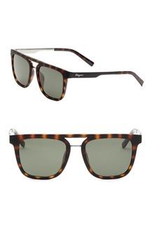 Ferragamo Square Sunglasses