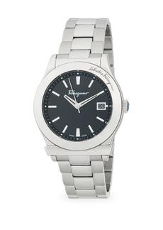 Ferragamo Stainless Steel Analog Bracelet Watch