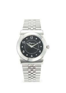 Ferragamo Stainless Steel Bracelet Watch