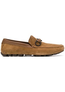 Ferragamo strap detail loafers