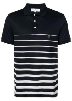 Ferragamo striped polo shirt