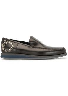 Ferragamo stud-embellished loafers