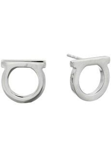 Ferragamo Stud Gancio FQ Earrings